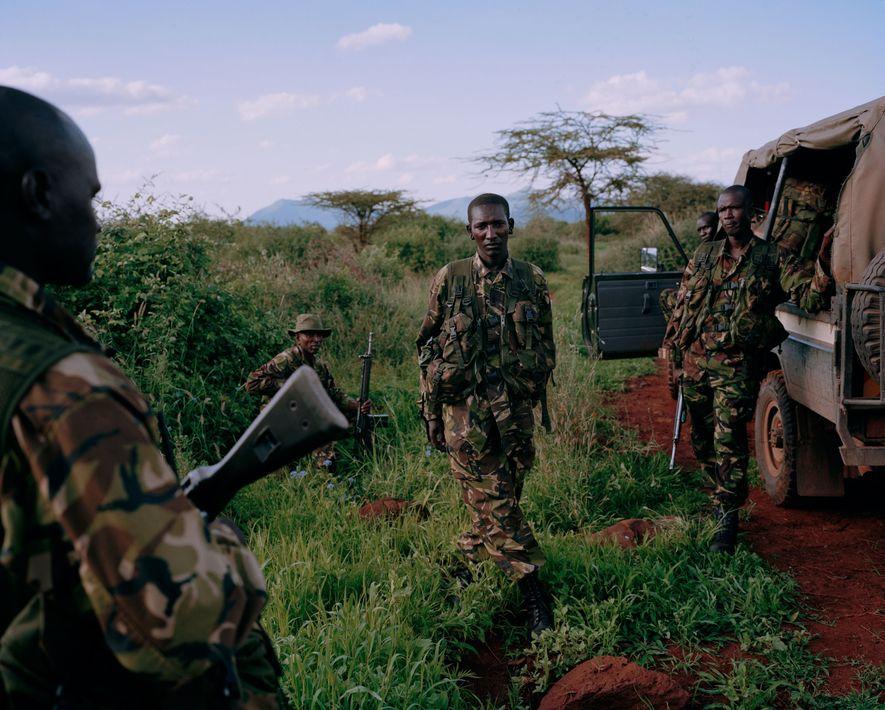 Unidad anti caza furtiva