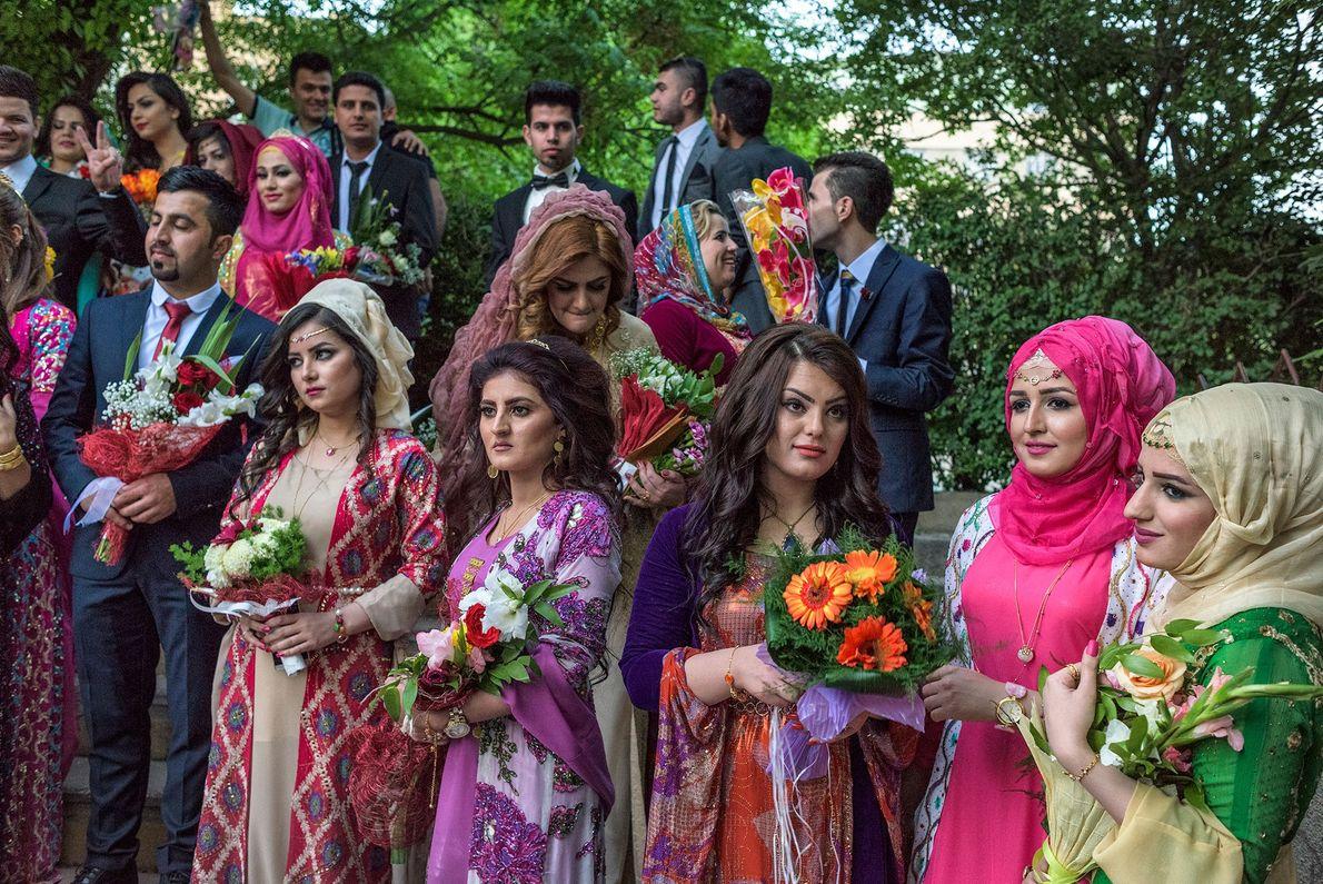 Jóvenes kurdos
