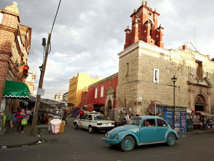 Volkswagen Escarabajo en Oaxaca, México