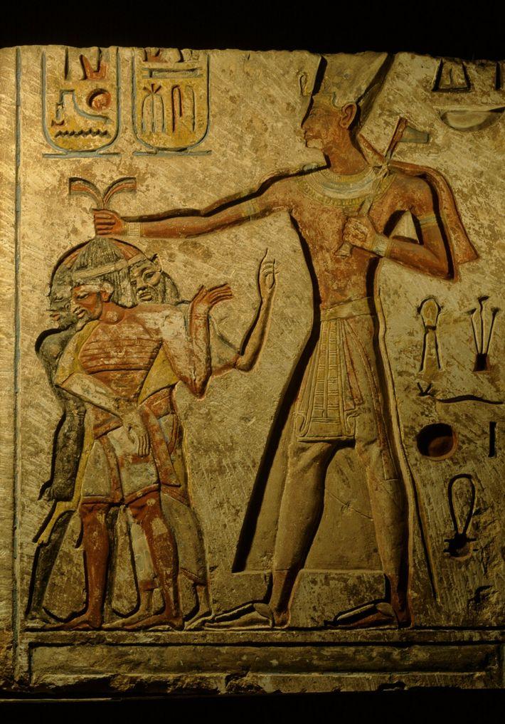 Retrato de Ramsés II