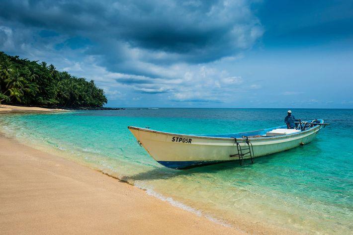 Praia da Banana en Santo Tomé y Príncipe