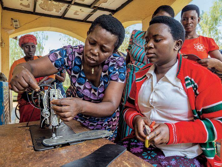 Red de Mujeres de Ruanda