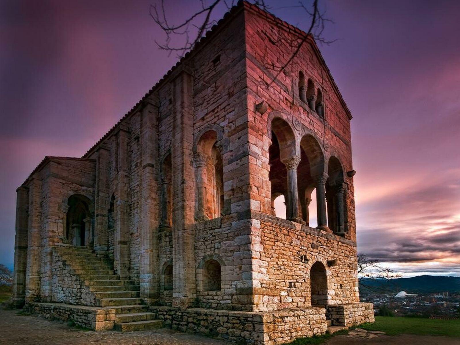 Lugares Patrimonio Humanidad España 10 Oviedo y Asturias