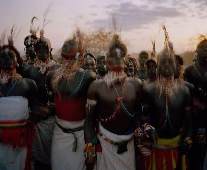 Los morán (o guerreros) samburu