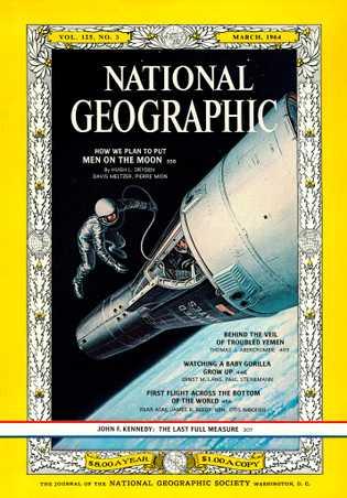 Revista National Geographic, marzo de 1964
