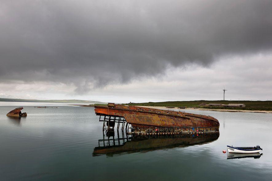 Islas Orcadas, Escocia.