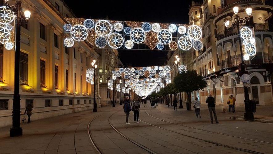 Alumbrado navideño de Sevilla