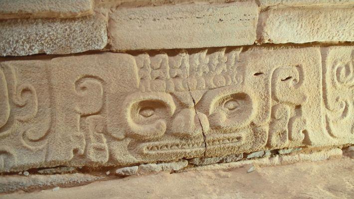 Imagen de grabados en piedra