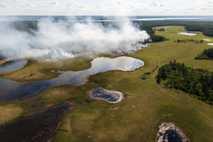 Incendio en Sajá-Yakutia
