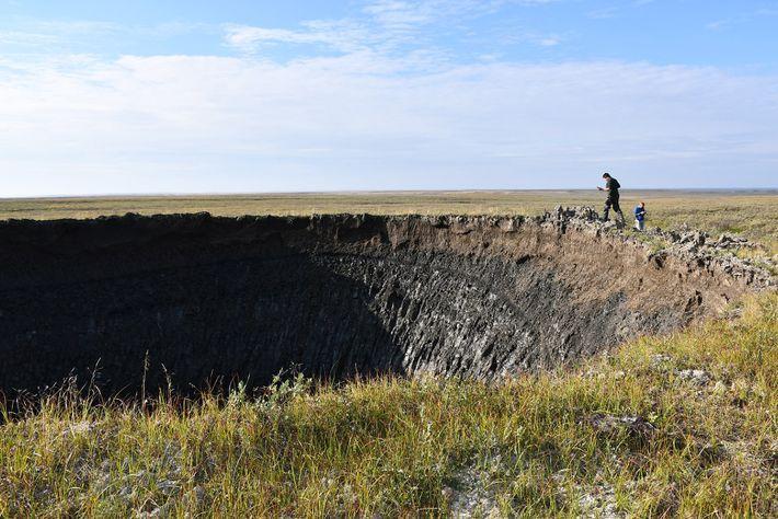Cráter siberiano