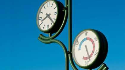 ¿Cómo se mide la temperatura histórica en España?