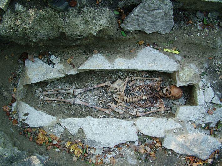 Esqueleto vikingo