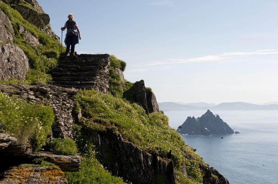 Skellig Michael, Irlanda: Las impresionantes ruinas de esta isla aislada, antaño un monasterio medieval y ahora …