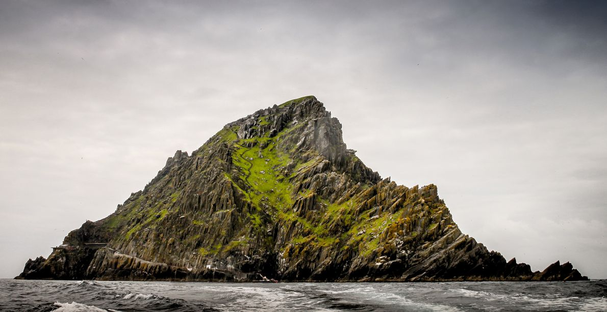 Skellig Michael, Irlanda. Ubicación de Star Wars: El escondite de Luke, Episodio VII