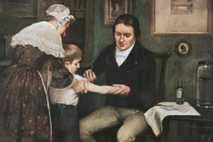 Edward Jenner administra la primera vacuna contra la viruela