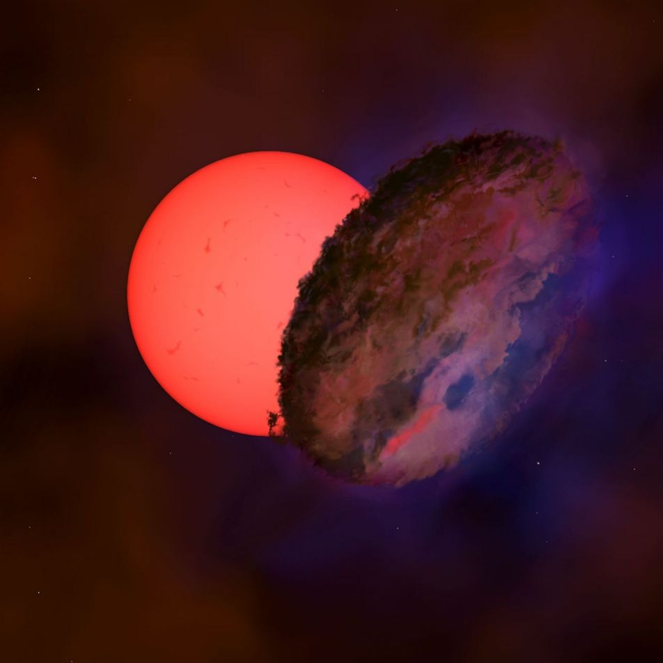Un objeto misterioso bloqueó una estrella gigante durante 200 días