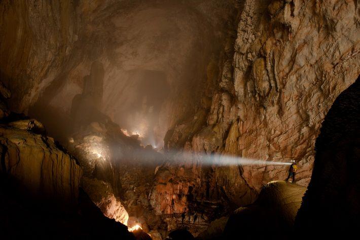 Imagen de la Gruta Son Doong en el Parque Nacional Phong Nha-Ke, Vietnam