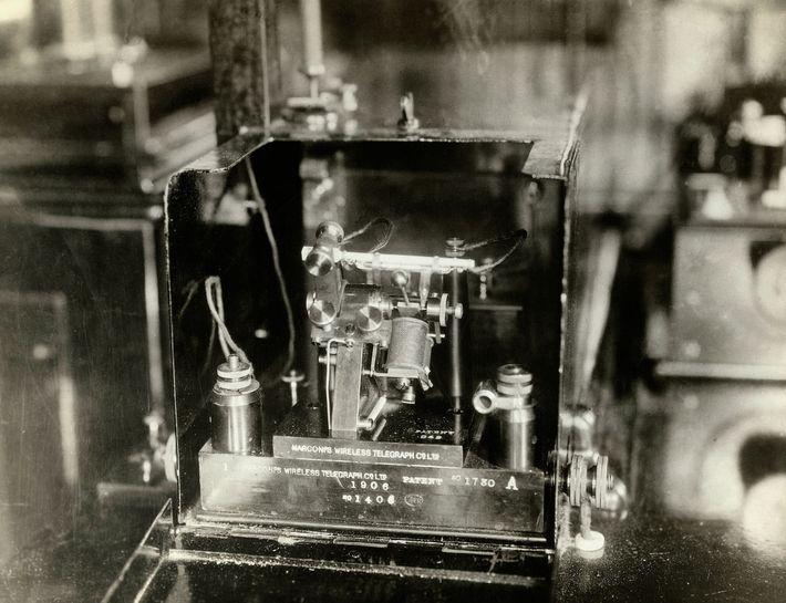 Componente del telégrafo Marconi