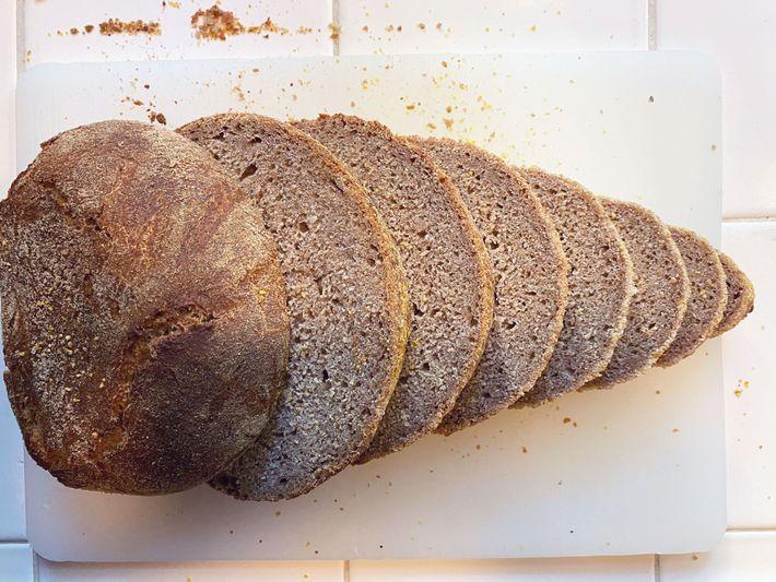 Pan de levadura egipcia
