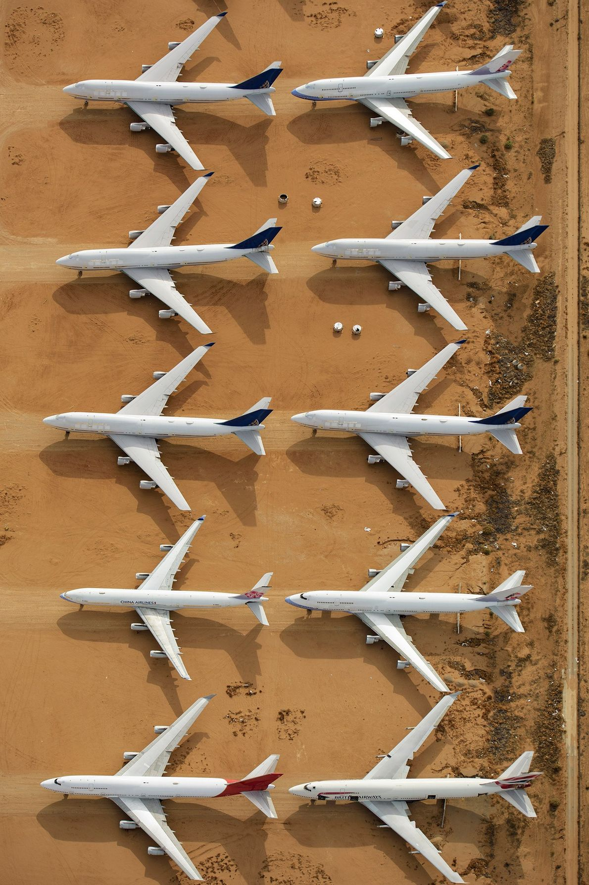 Aviones retirados