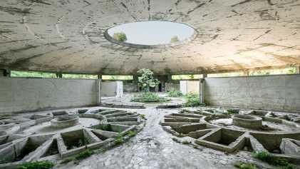 Los balnearios soviéticos en ruinas de Georgia