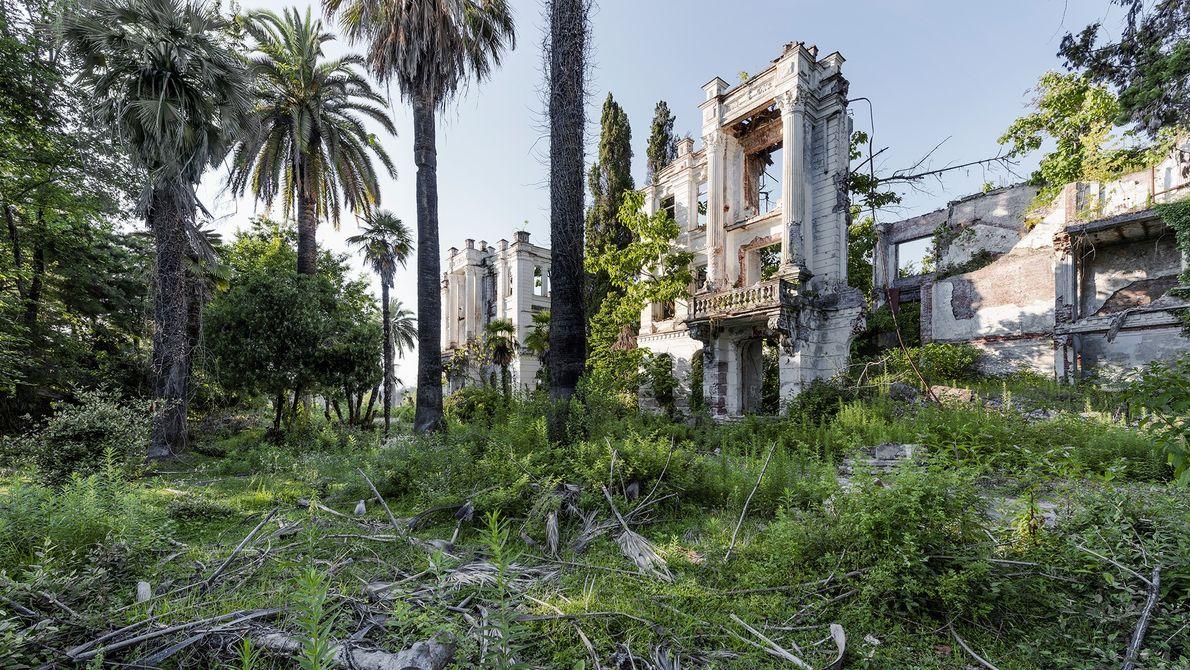 Los restos de un sanatorio