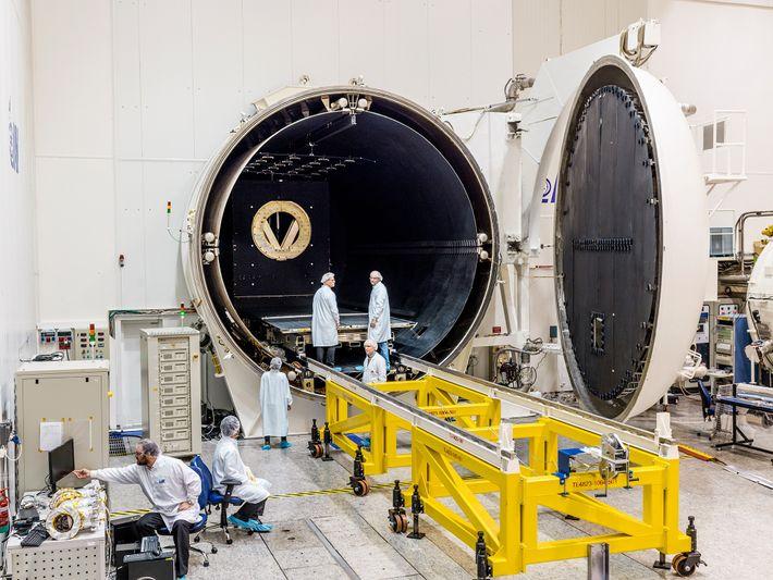 Instalaciones de SpaceIL