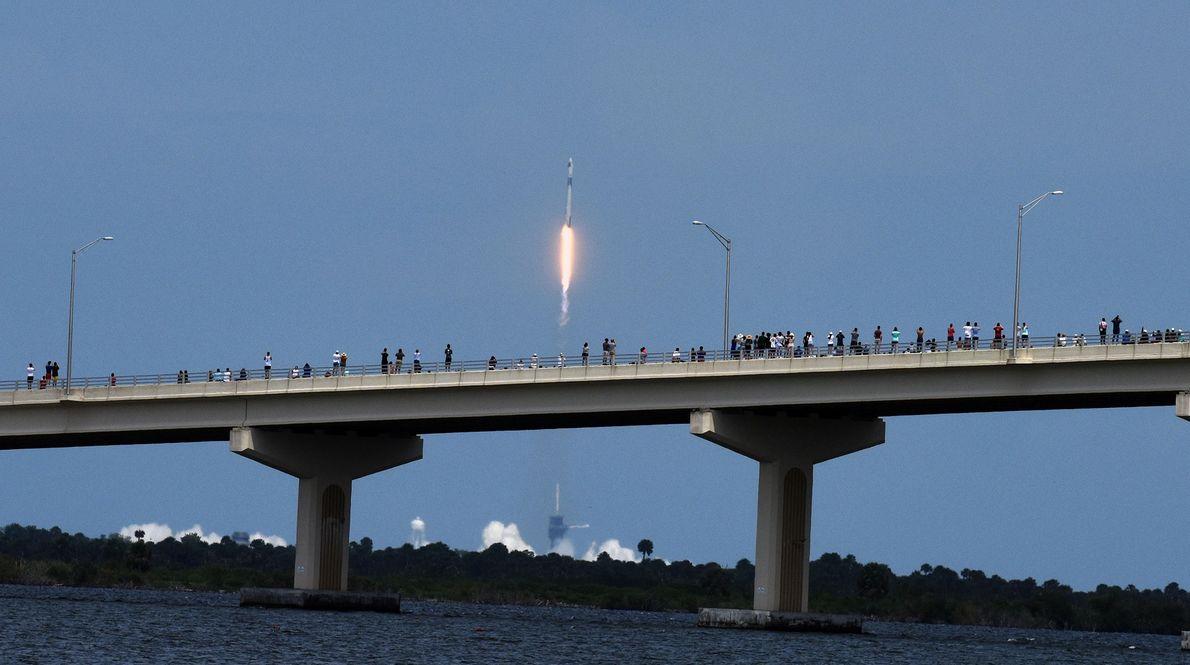 Lanzamiento del cohete Falcon 9