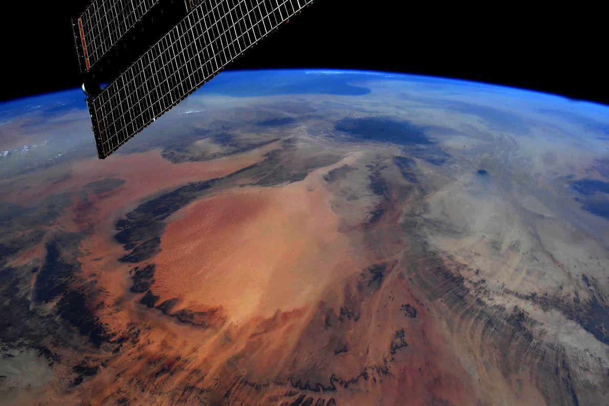Fotografía del sudoeste de Libia