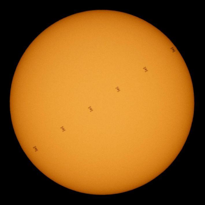 Foto de la Estación Espacial Internacional