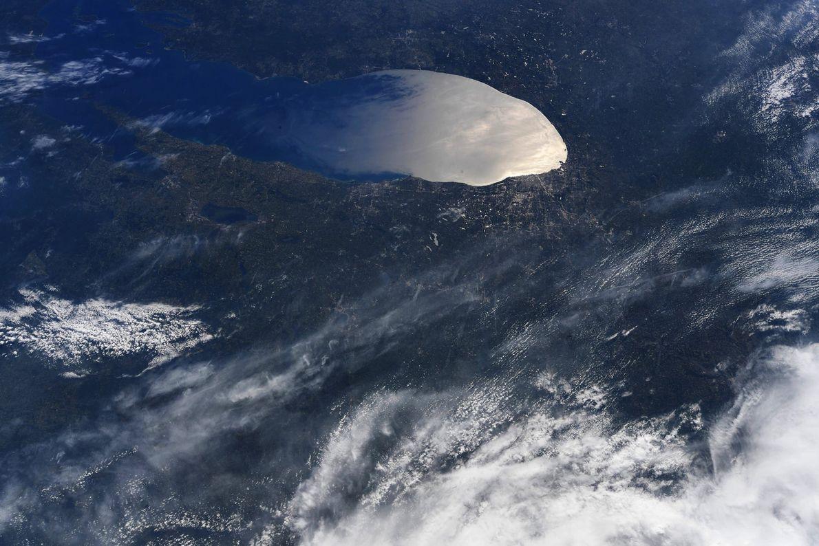 Fotografía del lago Míchigan