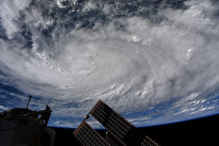Foto del huracán Hanna