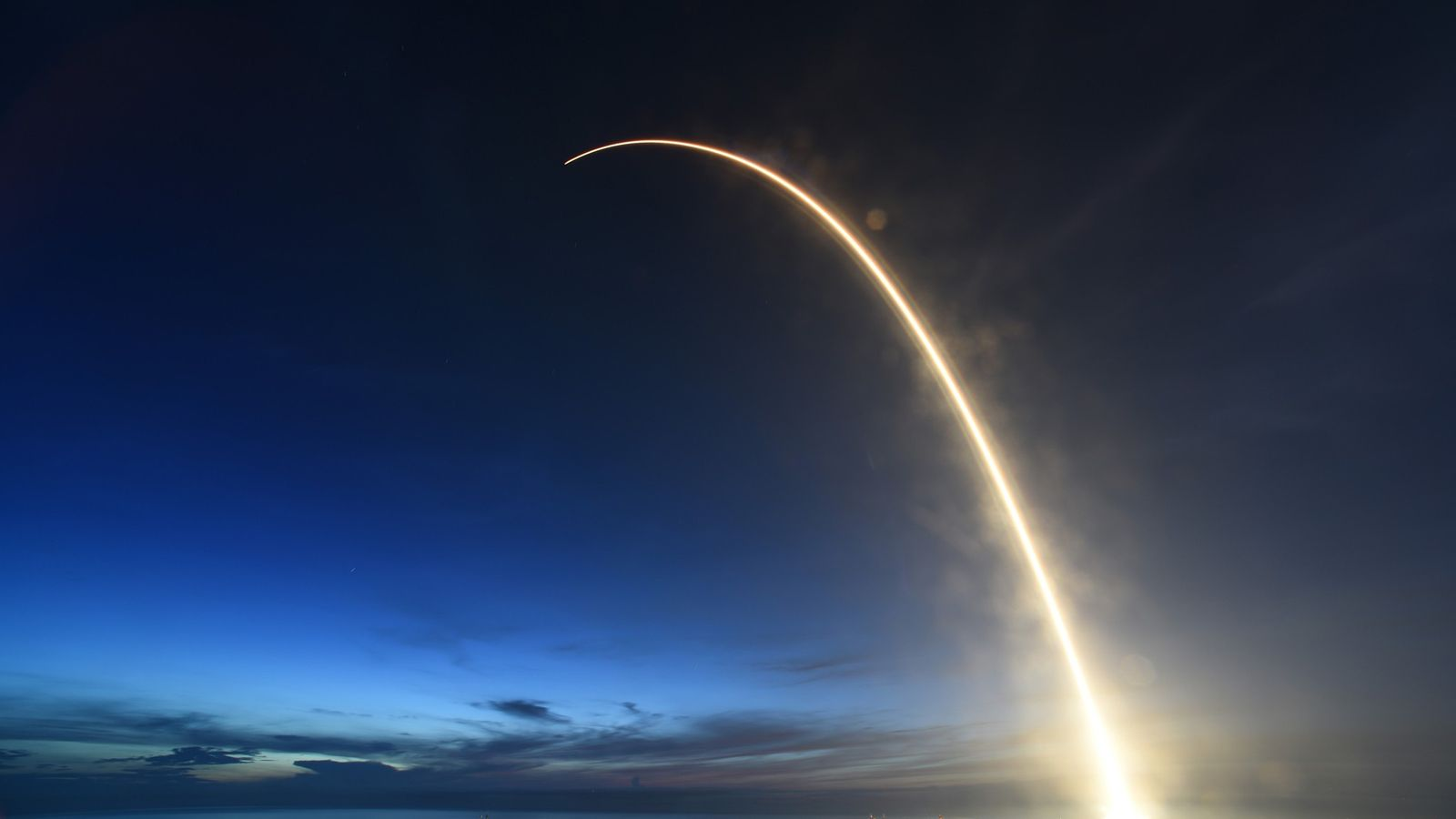 Un cohete Falcon 9