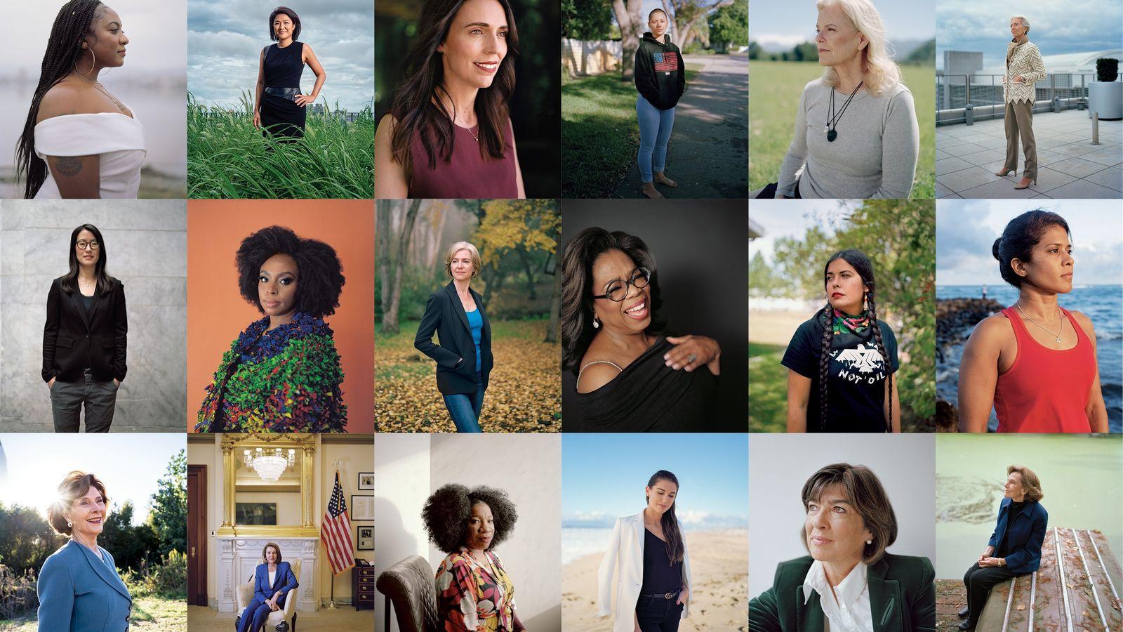 Mujeres entrevistadas