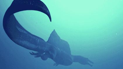 Así se reconstruyó a un depredador acuático gigante