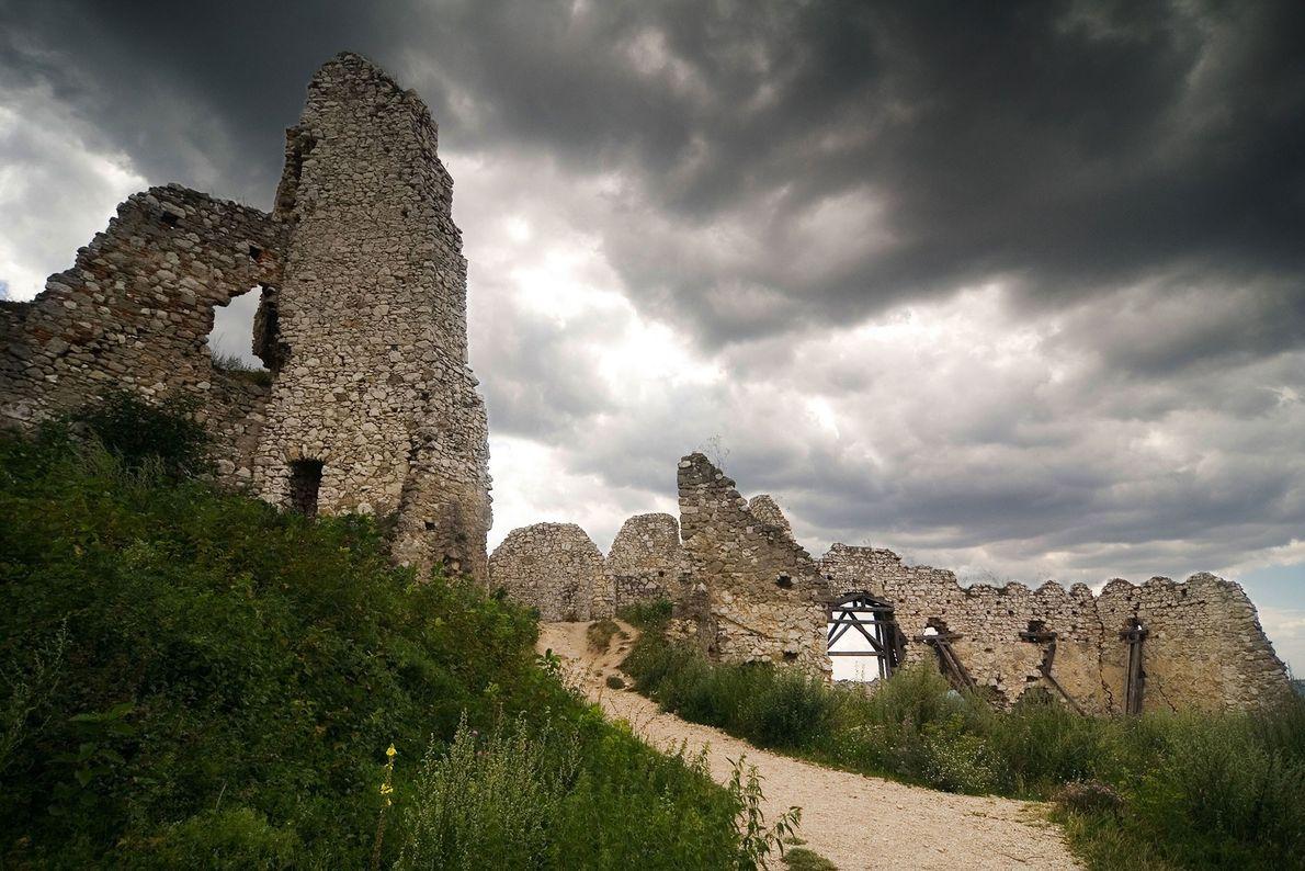 Castillo de Čachtice, Eslovaquia