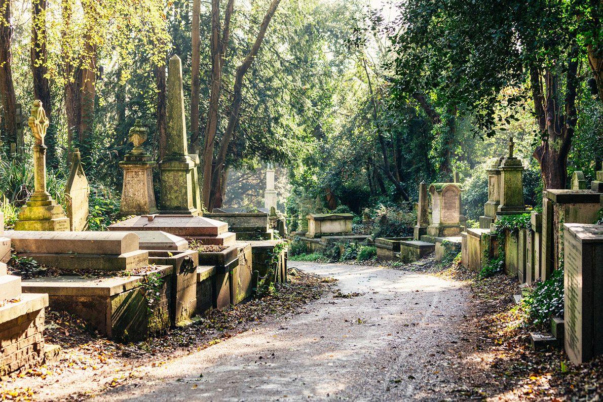 Cementerio de Highgate, Inglaterra