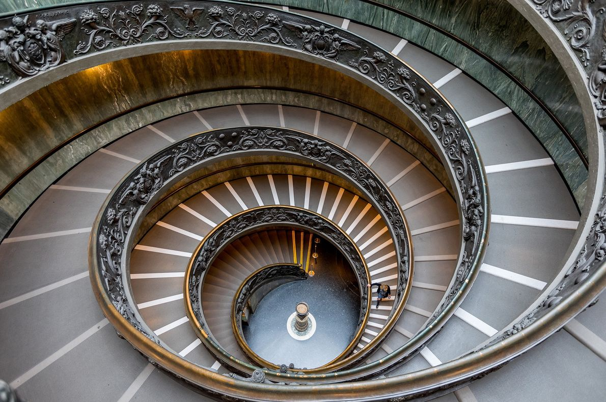 Escalera de Bramante