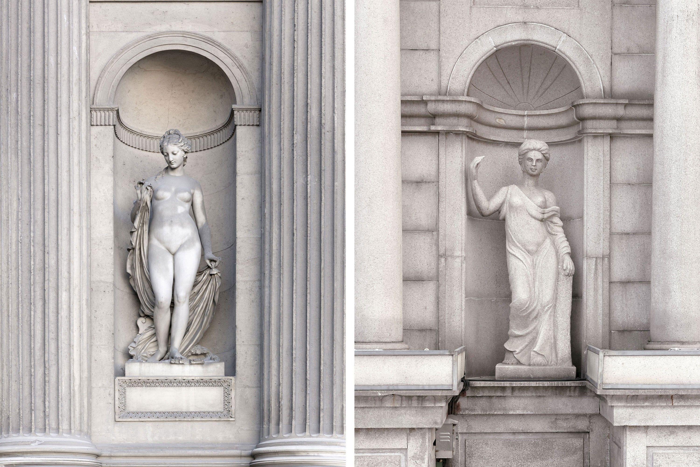 Las estatuas griegas