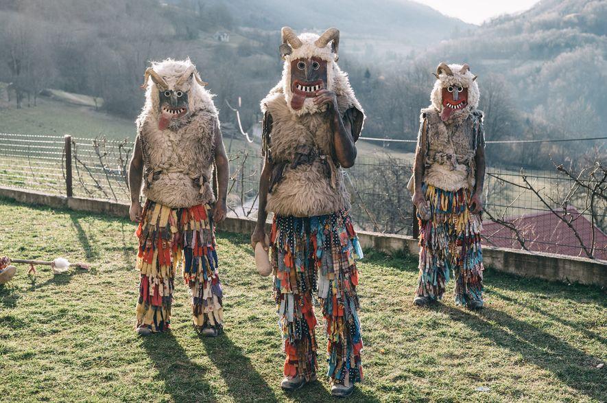 Eslovenia da la bienvenida a la primavera con un carnaval lleno de monstruos