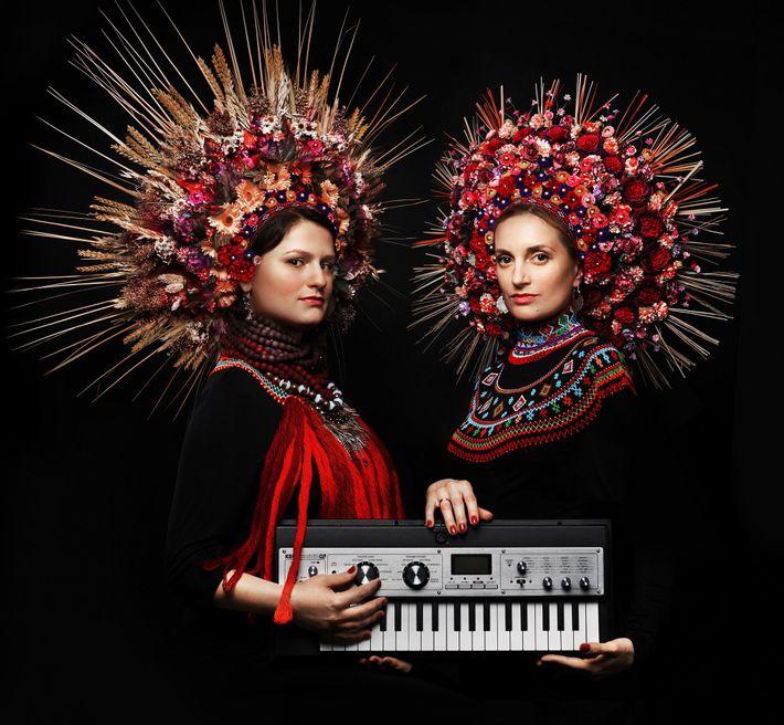 Daga Gregorowicz y Dana Vynnytska