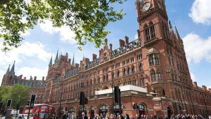 St. Pancras: el insólito renacimiento de una leyenda londinense