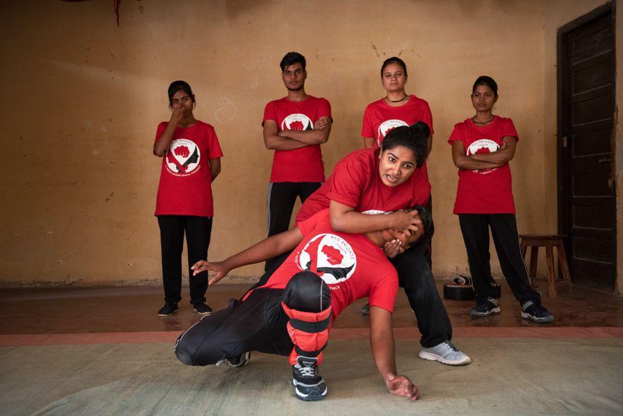 La Brigada Roja se fundó en la ciudad de Lucknow, capital de uno de los estados ...