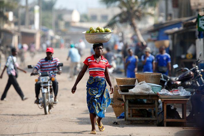 Explorar países menos visitados como Togo (en la foto) es una de las formas en que ...