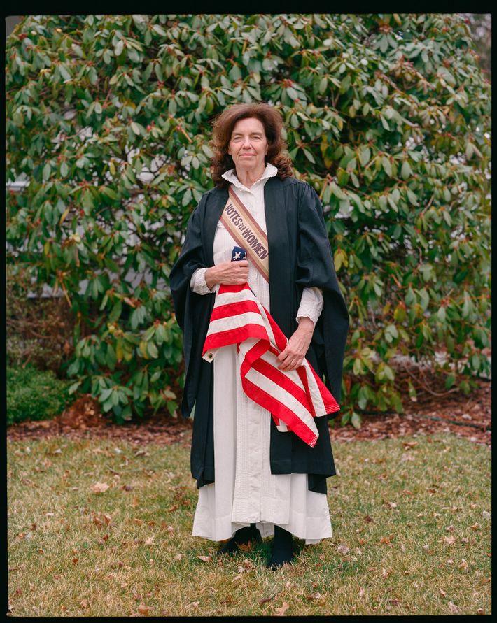 Coline Jenkins, tataranieta de Elizabeth Cady Stanton