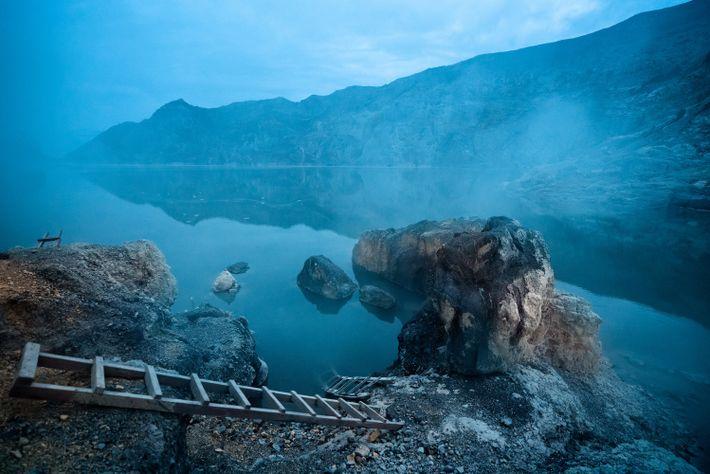 El volcán de Ijen