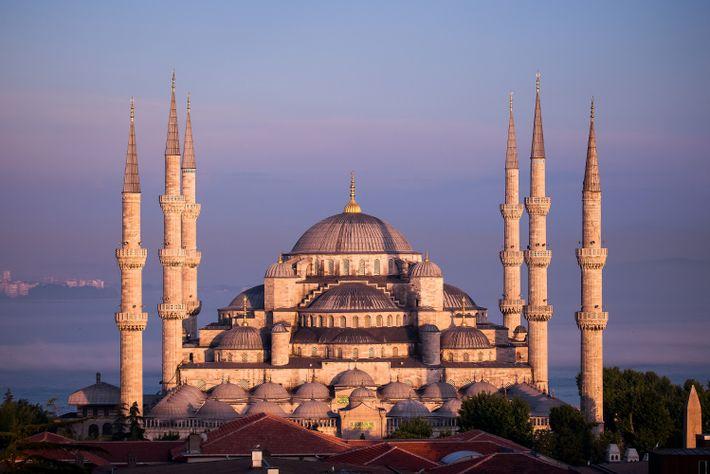La mezquita Azul o mezquita del Sultán Ahmed