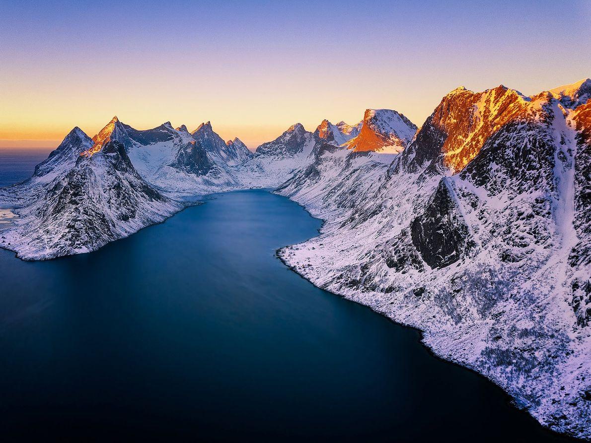 Reine, archipiélago de Lofoten, Noruega