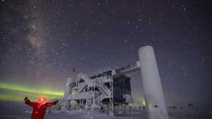 Viento, frío y mal de altura: el invierno en el Polo Sur