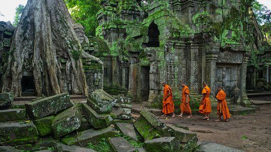 Explora la antigua ciudad de piedra de Siem Reap, en Camboya